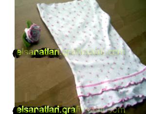 Ayşe Selcen Atılgan Kan el sanatları geri dönüşüm kumaştan gül yapımı
