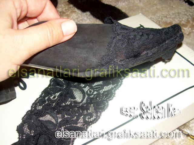 Ayşe Selcen Atılgan Kan el sanatları eski ayakkabı yenileme
