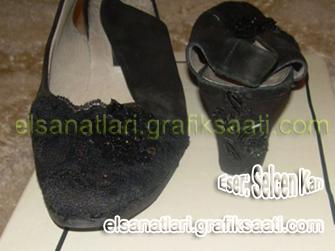 Ayşe Selcen Atılgan Kan el sanatları kadın ayakkabıları