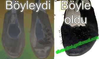 Ayşe Selcen Atılgan Kan el sanatları ayakkabı yenileme