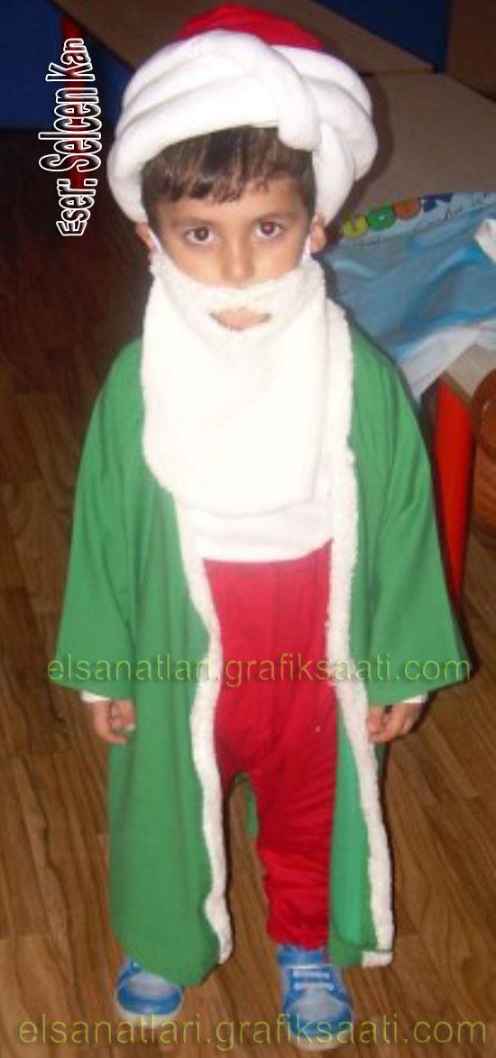 Ayşe Selcen Atılgan Kan el sanatları Nasrettin hoca kostümü